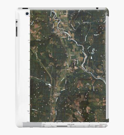 USGS Topo Map Washington State WA Acme 20110418 TM iPad Case/Skin