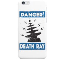 death ray phone iPhone Case/Skin