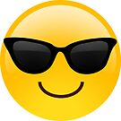 Smiling Face With Sunglasses Cool Emoji by redcow