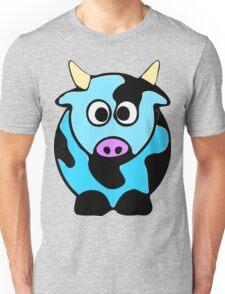ღ°㋡Cute Baby Blue Cow Clothing & Stickers㋡ღ° Unisex T-Shirt