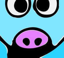 ღ°㋡Cute Baby Blue Cow Clothing & Stickers㋡ღ° Sticker