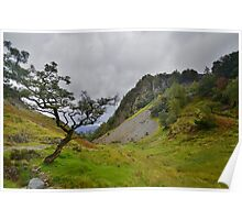 The Lake District: Castle Crag Poster