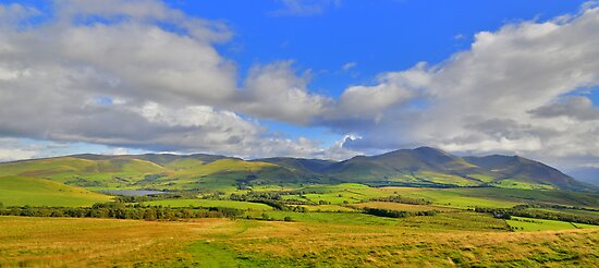 The Lake District: The Uldale Fells & Skiddaw by Rob Parsons