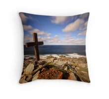 Malin Head - Donegal Ireland Throw Pillow