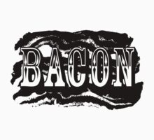 The Mighty Bacon Tee by mertalou
