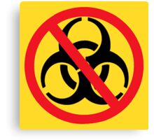 Bio-hazard Outbreak Elimination Canvas Print