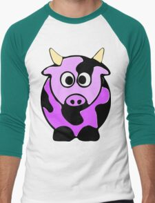 ღ°㋡Cute Lavender Colored Cow Clothing & Stickers㋡ღ° T-Shirt