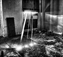 Sun Rays In The Asylum by Dave Godden
