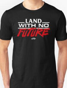 VHS Glitch - Land With No Future - Light Edition Unisex T-Shirt