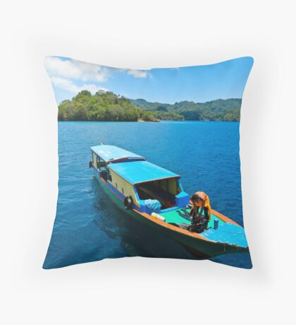 All in a day's work...... Throw Pillow