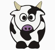 ღ°㋡Cute Brindled Cow Clothing & Stickers㋡ღ° Kids Tee