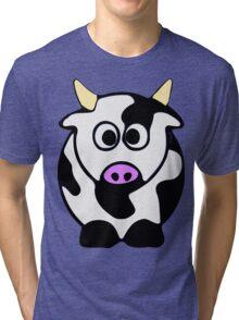 ღ°㋡Cute Brindled Cow Clothing & Stickers㋡ღ° Tri-blend T-Shirt