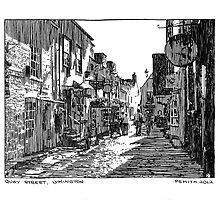 Quay Street, Lymington by CyberSmudger
