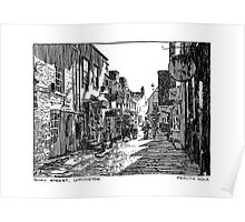 Quay Street, Lymington Poster