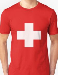 Swiss Flag T-shirt Unisex T-Shirt