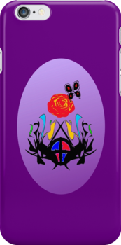 ை♠Vintage Royal Crest iPhone & iPod Cases♠ை by Fantabulous