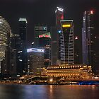 Singapore by night 3 by Adri  Padmos