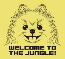 WELCOME TO THE JUNGLE! Baby Tee