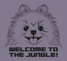 WELCOME TO THE JUNGLE! Kids Tee