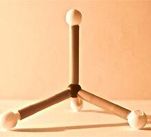 methane molecular by Marmellino
