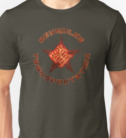 Reynolds Transportation - Grunge Unisex T-Shirt