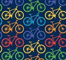 Ride a Bike Marin navy 3G  4G  4s iPhone case  by Andi Bird