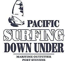Pacific Surfing - Australia - Down Under Photographic Print