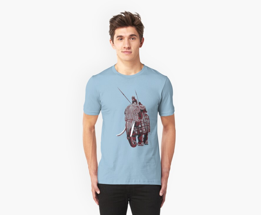 Elephant Riders by PONSHOP