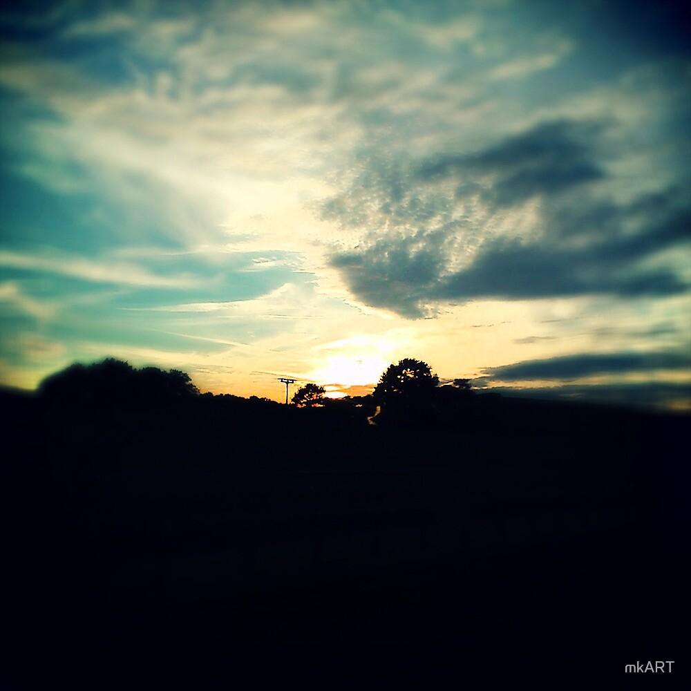 Sunset by mkART