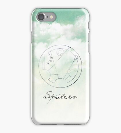 Spoilers iPhone Case/Skin