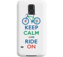 Keep Calm and Ride On multi 3G  4G  4s cases Samsung Galaxy Case/Skin