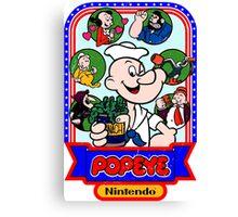 Popeye-Cade Canvas Print