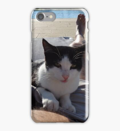 Pussy between my legs iPhone Case/Skin