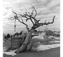 Hanging Tree -  Virginia City, Nevada Photographic Print