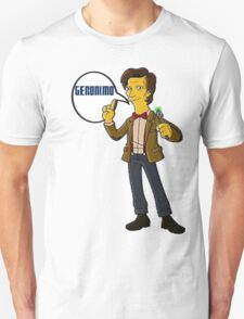 Doctor Who Geronimo The Simpsons T-Shirt