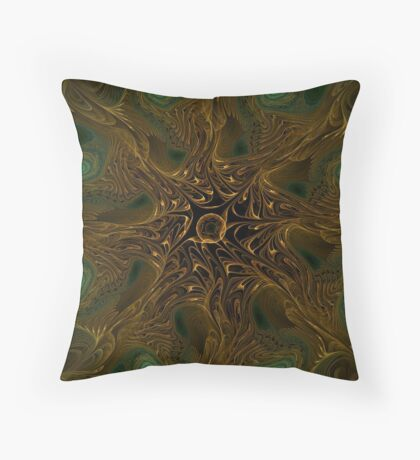 The Forest Has Eyes Throw Pillow