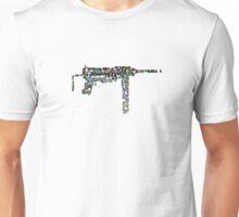 Colours of a gun Unisex T-Shirt