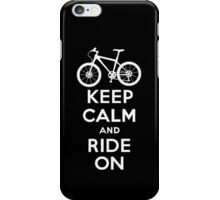 Keep Calm and Ride On  black  3G  4G  4s iPhone case  iPhone Case/Skin