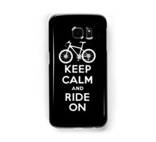 Keep Calm and Ride On  black  3G  4G  4s iPhone case  Samsung Galaxy Case/Skin