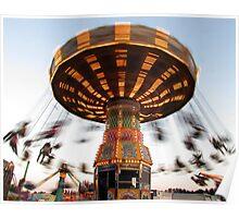 Twilight Carnival Ride Poster