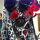 Day of the Dead Sugar Skull by Suzi Linden by Suzi Linden