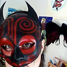 Devil Mask by Suzi Linden by Suzi Linden