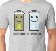 Sergent pepper & captain salt Unisex T-Shirt