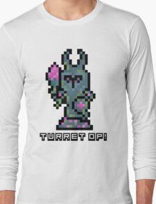 Pixel Tower Long Sleeve T-Shirt
