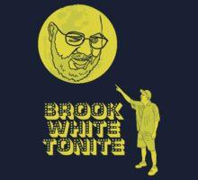 Brook White Tonite Official Shirt by John King III