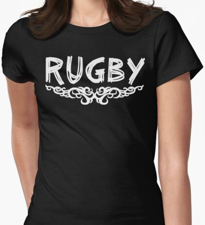 Rugby Womens Fitted T-Shirt