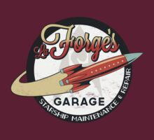 La Forge's Garage by M. Dean Jones