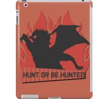 Monster Hunter - Hunt or be Hunted (Teostra) iPad Case/Skin