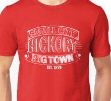 Small City Big Town Hickory NC Unisex T-Shirt