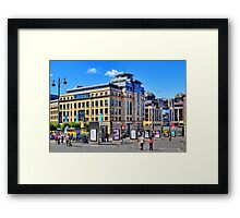 City Framed Print